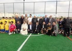 inauguration stade Irak