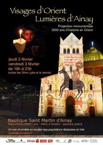 spectacle son et lumière les 2 et 3 février de 18h à 23h - Basilique Saint Martin d'Ainay