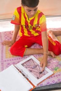 Raheb11 years old, Essian Camp©Yahad-In Unum / Victoria Bahr