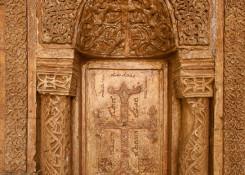 Monastere de Mar Behnam et Sarah- photo porte